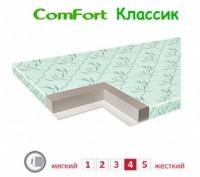 ComFort Класик тонкий 7см матрас на диван 140х190. Бровары. фото 1