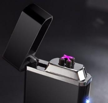 С двойной дугой!!! Подарункова запальничка USB / Подарочная зажигалка USB Отпр. Николаев, Николаевская область. фото 3