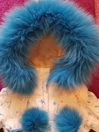 Зимний комбинезон от Donilo, размер 80+6. Утеплитель тинсулейт, очень тонкий и т. Мариуполь, Донецкая область. фото 12