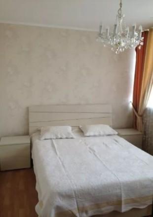 1-о комнатная квартира на Гетьмана,  53 кв.м., кухня-студио, спальня, евро ремон. Шулявка, Киев, Киевская область. фото 4
