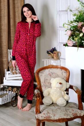 Теплая пижамка с кармашком на попе! Отличный подарок для девушки!. Киев. фото 1