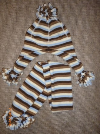 Набор шапка, шарф 5-6 л.. Херсон. фото 1