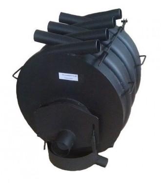 Отопительная печь булерьян Огонек Тип 04 сталь 4 мм (Огонек ПК35). Киев. фото 1