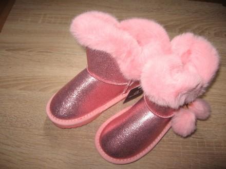 Детские зимние ботинки (уги) Apawwa для девочек (26-31). Николаев. фото 1
