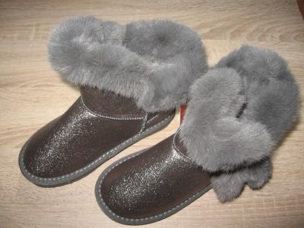 Детские зимние ботинки (уги) Apawwa для девочек (26-37). Николаев. фото 1