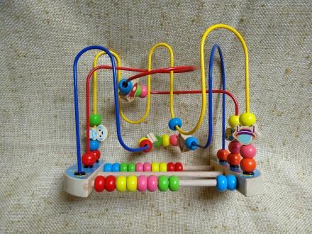 Пальчиковый лабиринт - развивающая детская игра. Киев. фото 1