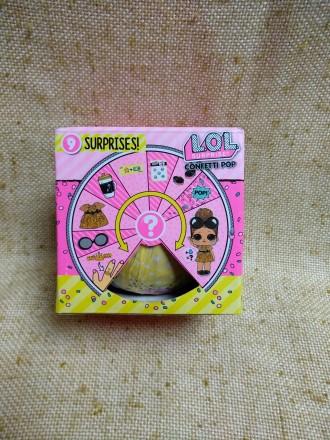 Кукла L.O.L. сюрприз в шаре (9 предметов). Київ. фото 1