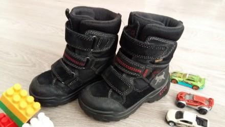 Ботинки ECCO Gore - Tex. Ровно. фото 1