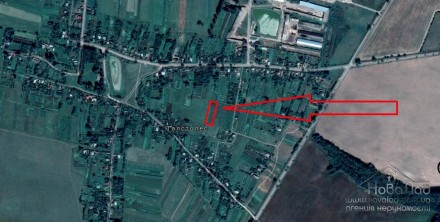 Земельный участок 25 соток в с.Толстолес. Чернигов. фото 1