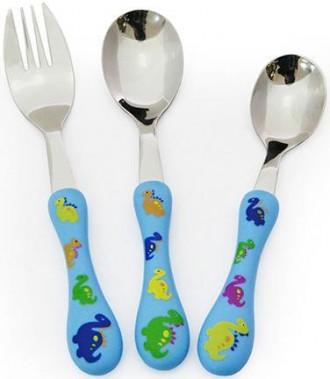 Набор столовых приборов детских, 3 предмета, Fissman подарочна упаковка. Киев. фото 1