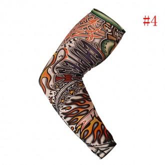 Рукава тату съемные длиной 38 см. Хорошо тянутся и принимают форму руки.  Нару. Мариуполь, Донецкая область. фото 6