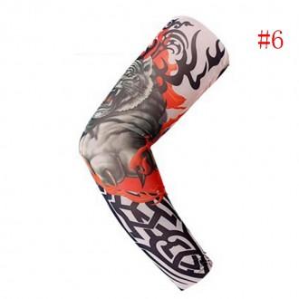Рукава тату съемные длиной 38 см. Хорошо тянутся и принимают форму руки.  Нару. Мариуполь, Донецкая область. фото 7