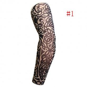 Рукава тату съемные длиной 38 см. Хорошо тянутся и принимают форму руки.  Нару. Мариуполь, Донецкая область. фото 8
