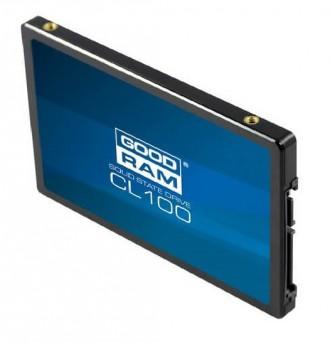 SSD накопитель 240GB GoodRam CL100 510 Mb/s НОВЫЙ диск. Киев. фото 1