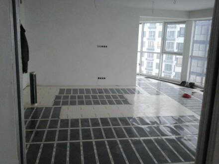 Інфрачервона плівкова тепла підлога. Киев. фото 1
