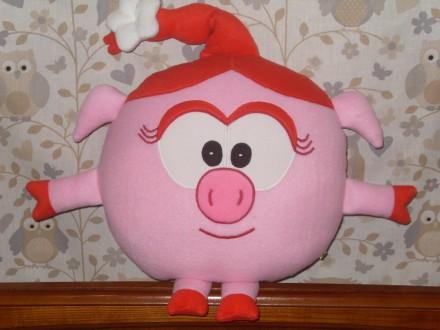 Мягкая игрушка-подушка Смешарик Нюша.. Бердянск. фото 1