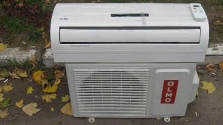 Продам кондиционер Olmo OSH-S09LHQ (обогрев до -7°С, до 25 м²). Киев. фото 1