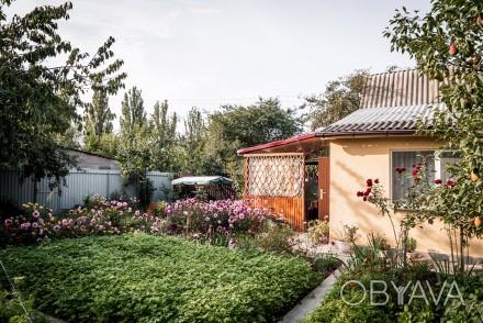 Отличная дача в живописном месте. Уютный кирпичный домик, ухоженный участок, на . Сабаров, Винница, Винницкая область. фото 1