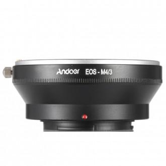 Адаптер переходник для объективов Canon EOS на камеры Olympus и Panasonic micro . Киев, Киевская область. фото 5