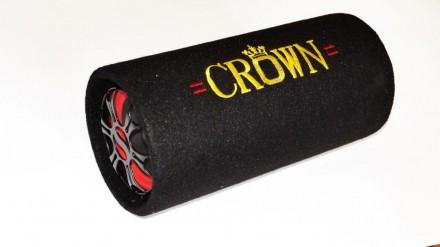 """5"""" Сабвуфер CROWN со встроенным усилителем """"труба"""" (""""boombox"""")   Длинная, окру. Чернигов, Черниговская область. фото 8"""