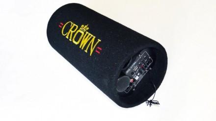 """5"""" Сабвуфер CROWN со встроенным усилителем """"труба"""" (""""boombox"""")   Длинная, окру. Чернигов, Черниговская область. фото 7"""