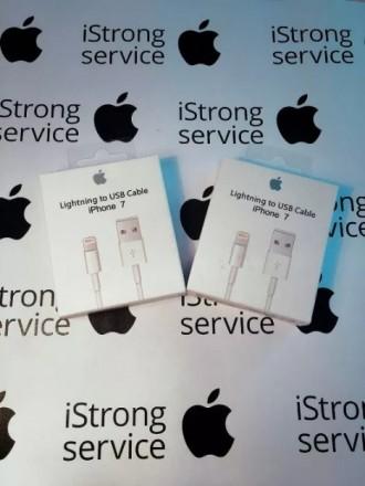 Кабель USB зарядка на айфон iPhone + Наушники EarPods в Подарок. Одесса. фото 1