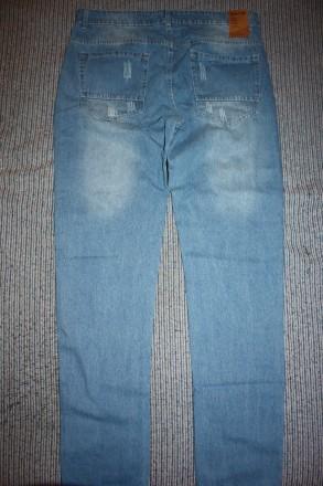 Продам Джинсы Modis 36 34 сине-голубые slim fit , low waist зауженные по da007ac8413