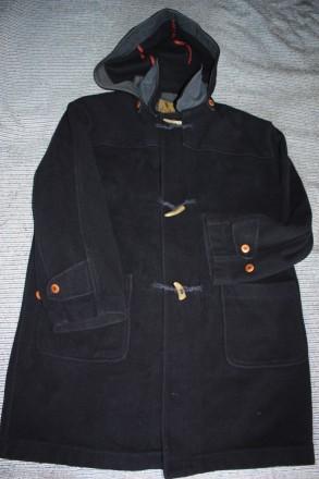 Пальто даффлкот daniel dodd xl (52). цвет - темно синий. Киев. фото 1