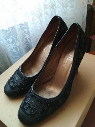 Замшевые женские туфли. Полтава. фото 1
