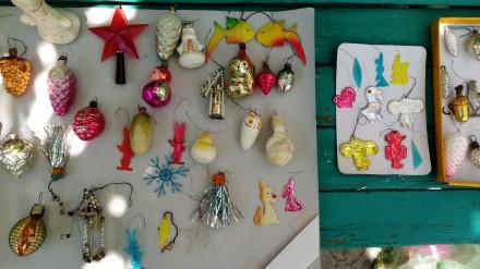 Елочные игрушки времен 60 - 90-х СССР Елочная Ёлочная игрушка. Херсон. фото 1