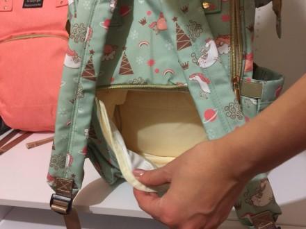 Сумка для мамы легко крепится на ручку коляски.  Сумка, как правило, содержит в. Кривой Рог, Днепропетровская область. фото 8