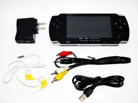 Особенности игровой приставки Sony PSP (копия): 4 Гб встроенной памяти. Класси. Днепр, Днепропетровская область. фото 2