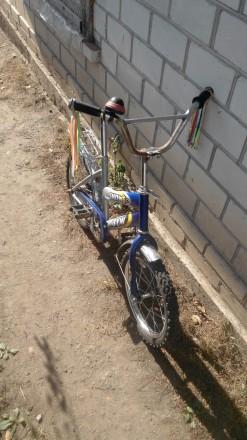 Продам дитячій велосипед,у доброму стані.. Гайворон. фото 1