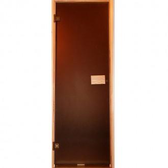 двері скляні для парної сауни. Львов. фото 1