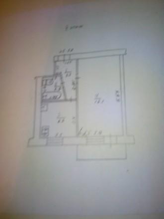 Продам однокомнатную квартиру напротив ТЦ Зоряний. Умань. фото 1