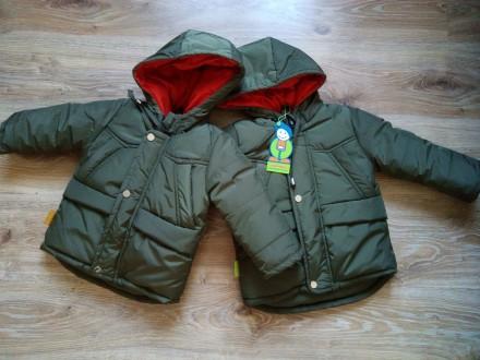 Зимова куртка 104 см. Бердичев. фото 1