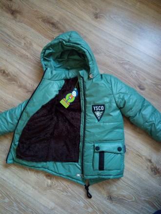 Зимова куртка 110 см. Бердичев. фото 1