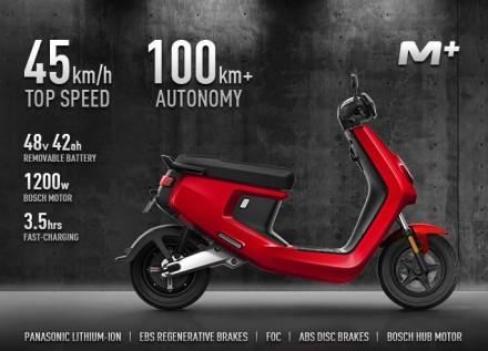 NUUV M+ Lite и M+ sport. Вы нашли двухместный электрический скутер №1 в Мире от . Киев, Киевская область. фото 7