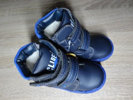Детские зимние ботинки Clibee для мальчика (22-27). Николаев. фото 1