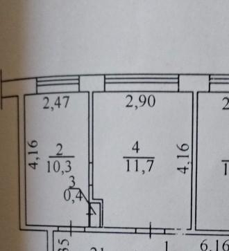 Продается две комнаты в коммунальной квартире на Черёмушках. Одеса. фото 1