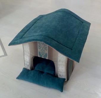 Домик для собачки кошки кота. Лежак для собаки. Дніпро. фото 1