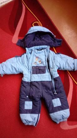комбинезон с подкладкой, на возраст 1 год. Суми. фото 1