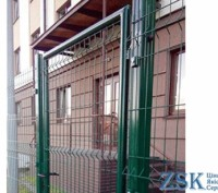 Ворота из сетки ЭКО  H-1,68м, L-4м. Киев. фото 1