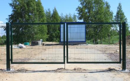 Ворота из сетки Классик H-1,0м, L-3м. Киев. фото 1