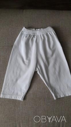 Белые бриджи, шорты, капри как новые