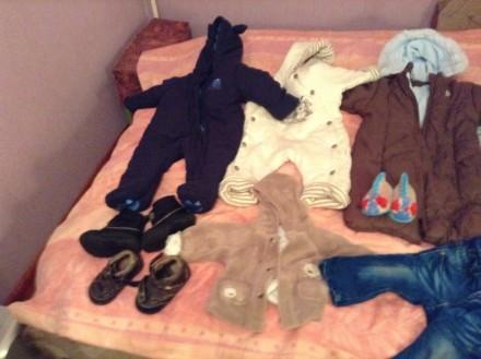 Розпродаж дитячих комбінезонів (зимових, осінніх)  іншої дитячої одежі, недорог. Конотоп. фото 1