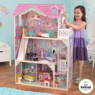 Деревянный кукольный домик Annabelle KidKraft 65934. Киев. фото 1