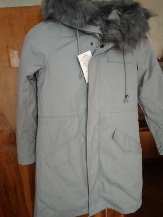 Куртка-парка для дівчинки розм. 134-170. Киев. фото 1