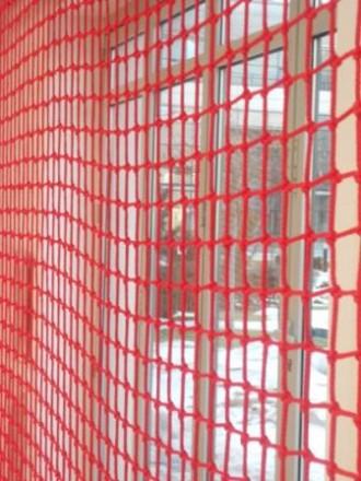 Сетка оградительная диаметр 2.5мм,80х80мм. Киев. фото 1