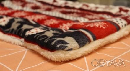 Теплое, мягкое и очень уютное одеялко (может быть использовано как подстилка в м. Днепр, Днепропетровская область. фото 1